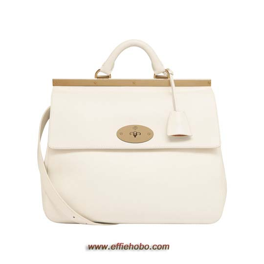 Mulberry Suffolk Off White Classic Calf