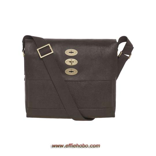 Mulberry Brynmore Chocolate Natural Leather