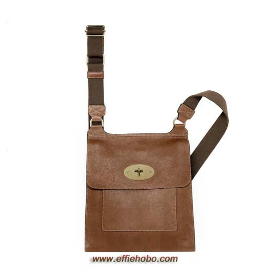 Mulberry Antony Messenger Oak Natural Leather