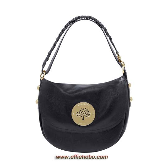 Mulberry Daria Satchel Black Soft Spongy Leather
