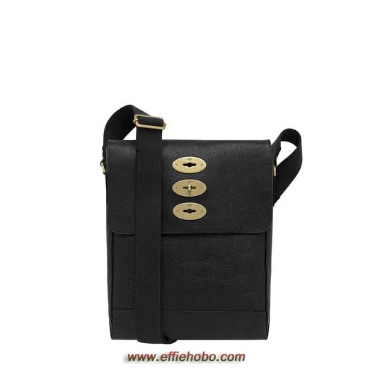 Mulberry Slim Brynmore Black Natural Leather
