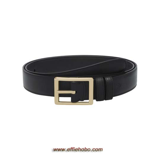 Mulberry Reversible Frame Buckle Belt Black Saddle & Classic Printed Leather