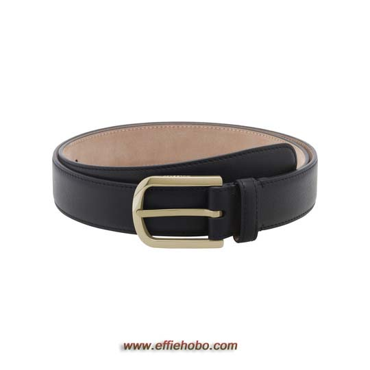 Mulberry Arched Buckle Black Micrograin Calf