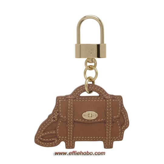 Mulberry Alexa Bag Charm Oak Soft Saddle Shoulder