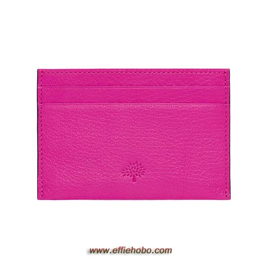 Mulberry Credit Card Slip Mulberry Pink Glossy Goat