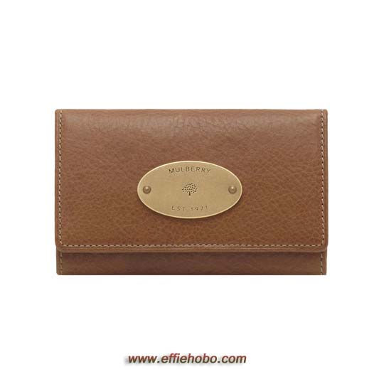 Mulberry Phone Case Oak Natural Leather