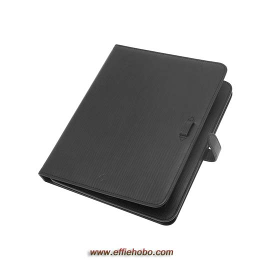 Mulberry Adjustable iPad 2 Sleeve Black Hand Rolled