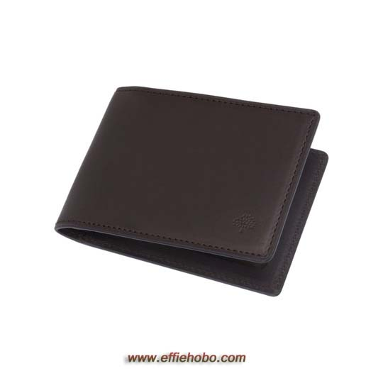 Mulberry Travel Card Holder Chocolate Soft Saddle