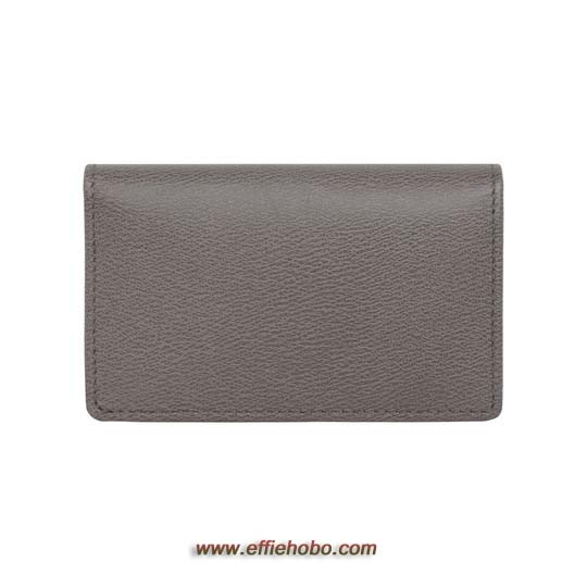 Mulberry Card Case Grey Classic Printed Calf