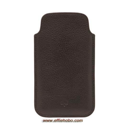 Mulberry iPhone 5 Cover Chocolate Natural Leather