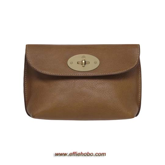 Free Gift for order amount over 230GBP-Mulberry Locked Cosmetic Purse Oak