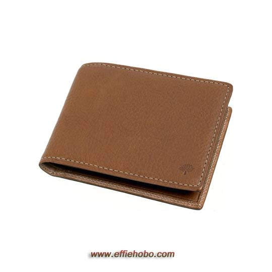 Free Gift for order amount over 220GBP-Mulberry 8 Card Wallet Oak Natural Leather