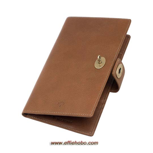 Mulberry Women's Travel Wallet Oak Natural Leather