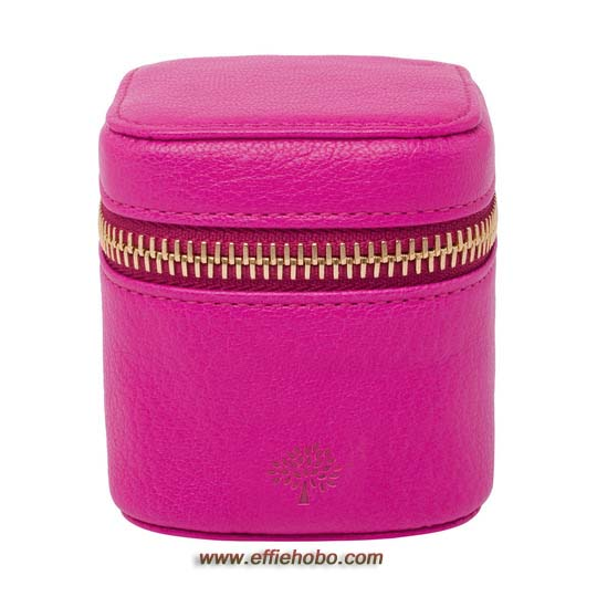 Mulberry Travel Adapter Mulberry Pink Glossy Goat